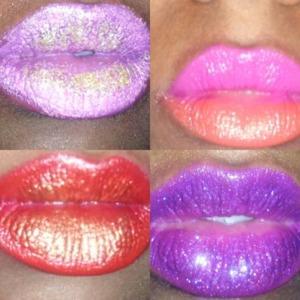 Mac lipstick and dazzle glass
