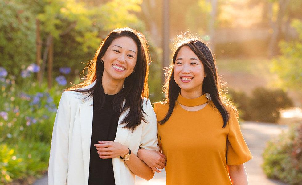 Chemist Confessions Cofounders: Victoria Fu (left) and Gloria Lu (right).