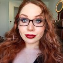 Makeup for Those With Glasses: Shimmery Earthy Sienna Smokey Eye Makeup Tutorial