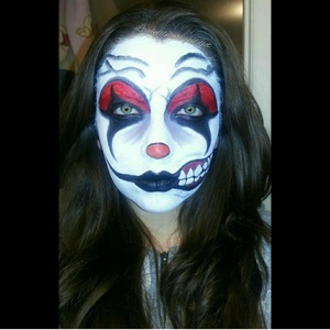Halloween look follow me in Instagram for more pictures and details @lovelylilmakupaddict