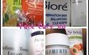 Face Care 101: Face wash,toners, exfoliates, and treatment masks!