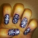 purple and design