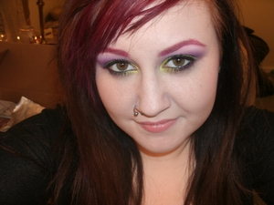 A look I did recently! Silly face, but whatever :P There's a blog post coming on this soon!