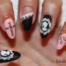 Gothic Lolita Nails