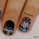 Brocade Nail Design