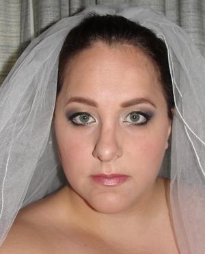 Smokey Wedding Look
