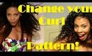 Change Your Curl Pattern without Heat