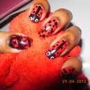 Spring Challenge, week 4 --Lady Bug