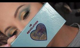 MAKEUP REVOLUTION - I Heart Makeup MERMAID'S HEART Makeup Look | Danielle Scott