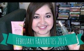 February Favorites 2015!