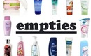 Empties: Products I've Used Up
