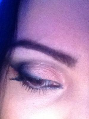 i realized a smokey eye using naked palette 2