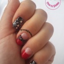 Rhinestone Bow Nail Art (Simple and Easy)