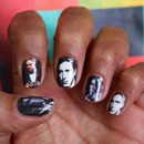 The Godfather - nail art decals