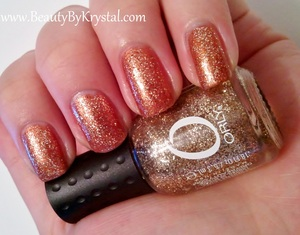 Orly Hair Band on top of Orly Chocolate Martini