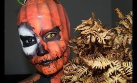 Jack/ Pumkin King Inspired Makeup by EpicMe