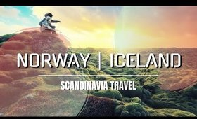 SCANDINAVIA TRAVEL | [ Norway & Iceland Cinematic Video ] 🐙