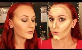 How To: Cream Contour & Highlight Using Drugstore Products
