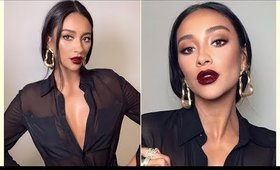 Shay Mitchell makeup tutorial inspired (darker lip)