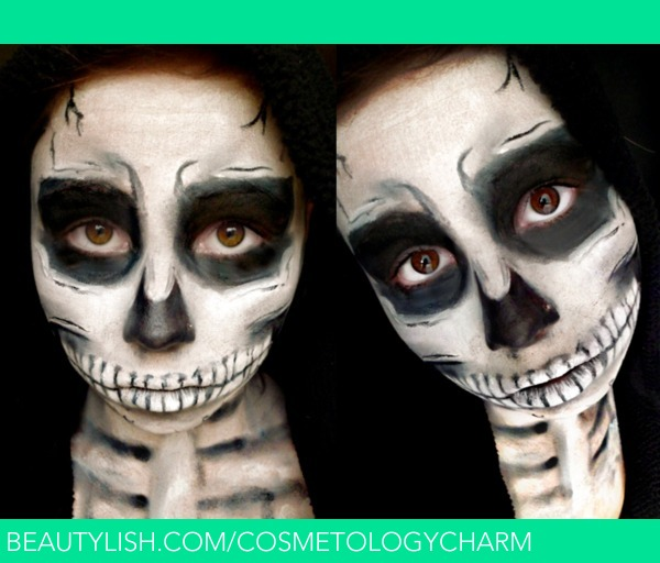 Halloween Make Up Skelet.Skeleton Halloween Makeup Sasha C S Sashamua Photo