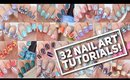 32 NAIL ART TUTORIALS! | Nail Art Design Compilation