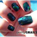 Teal Glitters