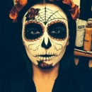 Day of te dead for Halloween :)