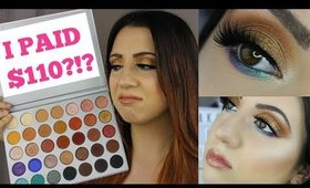 JACLYN HILL X MORPHE BRUSHES EYESHADOW PALETTE: Worth The Hype? Review, Swatches & Tutorial