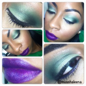 Follow me on Instagram to see what I used for this look @muashaleena