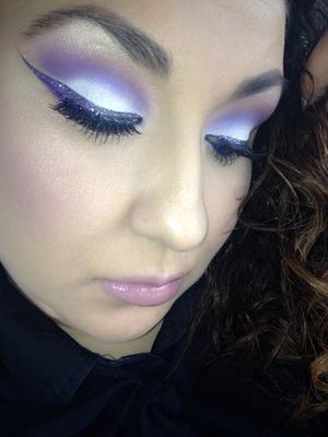 Lavender lilac purples shades