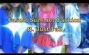 Summer Fashion: White Denim Shorts & JustFab Shoes ♡