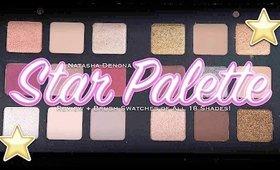 l ⭐️ l Natasha Denona Star Palette l ⭐️ l Review + Brush Swatches of all 18 Shades!