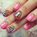 Wild girly nails