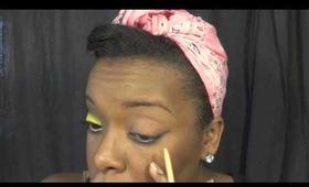 Kisses Down Low Inspired Makeup Tutorial