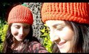 Crochet Pumpkin Hat! | Fall Halloween Crochet Project