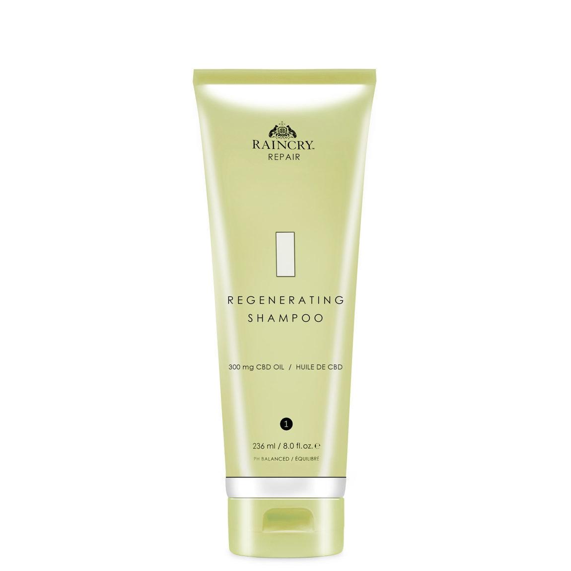 Raincry Regenerating Shampoo product swatch.