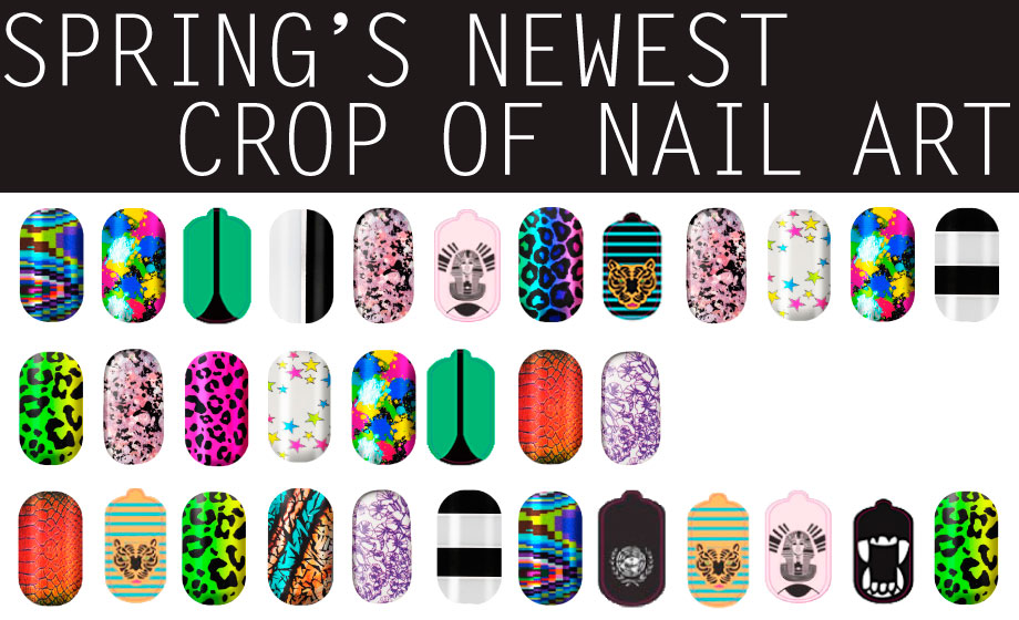 Spring\'s Newest Crop of Nail Art   Beautylish