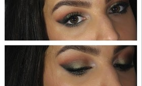 Olive Green Eyes - Makeup Tutorial ♥