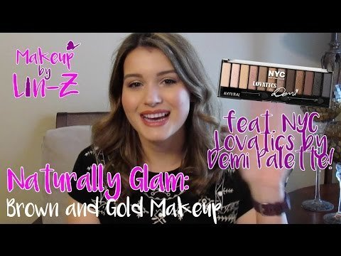 NYC Lovatics by Demi Palette Makeup Tutorial: Naturally Glam