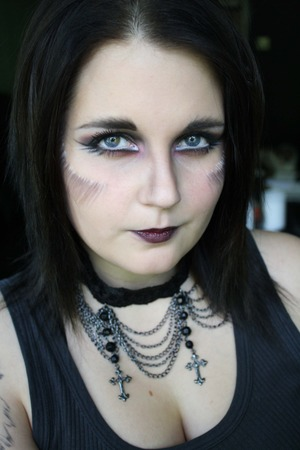 Tried this look for halloween! http://epicme.bloggplatsen.se/