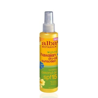 Alba Botanica Natural Hawaiian Dry Oil Sunscreen SPF 15