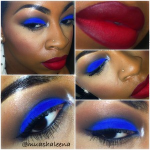 Hope you all have a great 4th of July ! Check out my instagram to see what I used for this look @muashaleena