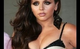Little Mix Jesy BRIT Awards Brown Smokey Eye Makeup Tutorial
