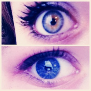 Two different eyes call for two different looks!