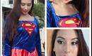 Superwoman Halloween Tutorial!