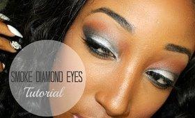 TUTORIAL: Smoke Diamond Eyes | 30 DAY VIDEO SERIES #26