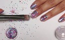 Sequin Nail Art for the Holidays