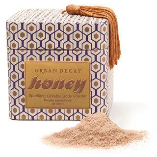 Urban Decay Sparkling Lickable Body Powder- Honey