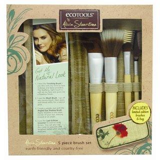 EcoTools EcoTools by Alicia Silverstone - 1232 5pc Brush Set & Case