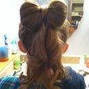 Bow hair :)